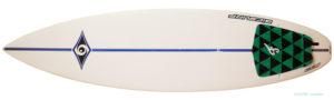 ビック サーフボード BIC 中古ショートボード6`2 EPOXYモールド deck-zoom No.96291507