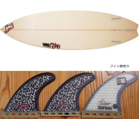 JS サーフボード 中古ショートボード 6`0 JAPAN MODEL fin/option No.96291508