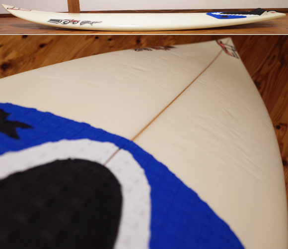 JS サーフボード 中古ショートボード 6`0 JAPAN MODEL deck-condition No.96291508