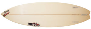JS サーフボード 中古ショートボード 6`0 JAPAN MODEL bottom-zoom No.96291508