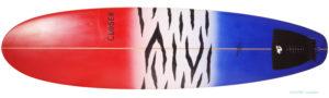 CLOSER クローサーサーフボード 中古ファンボード 7`3 deck-zoom No.96291509