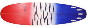 CLOSER クローサーサーフボード 中古ファンボード 7`3 bottom-zoom No.96291509