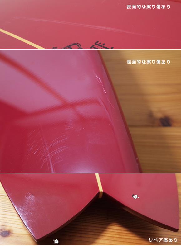 ホワイトエンジェルサーフボード  ビーチウォーカー 中古ショートボード 5`10 condition-2 No.96291510