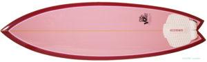 ホワイトエンジェルサーフボード ビーチウォーカー 中古ショートボード 5`10 deck-zoom No.96291510
