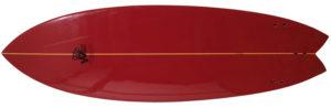 ホワイトエンジェルサーフボード ビーチウォーカー 中古ショートボード 5`10 bottom-zoom No.96291510