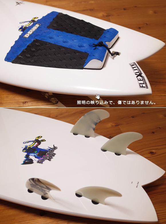 プレセボ ゴーキンモデル AARON CORMICAN クアッドフィッシュ 中古ショートボード 6`2 tail No.96291511