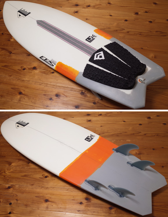 4L FOR LIFE SURFBOARDS RDS 中古ショートボード 5`6 deck/bottom No.96291514