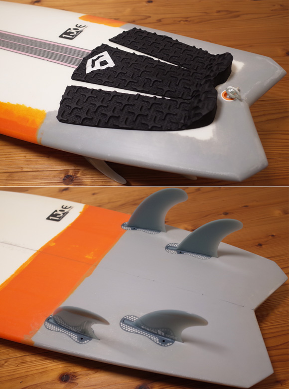4L FOR LIFE SURFBOARDS RDS 中古ショートボード 5`6 tail No.96291514