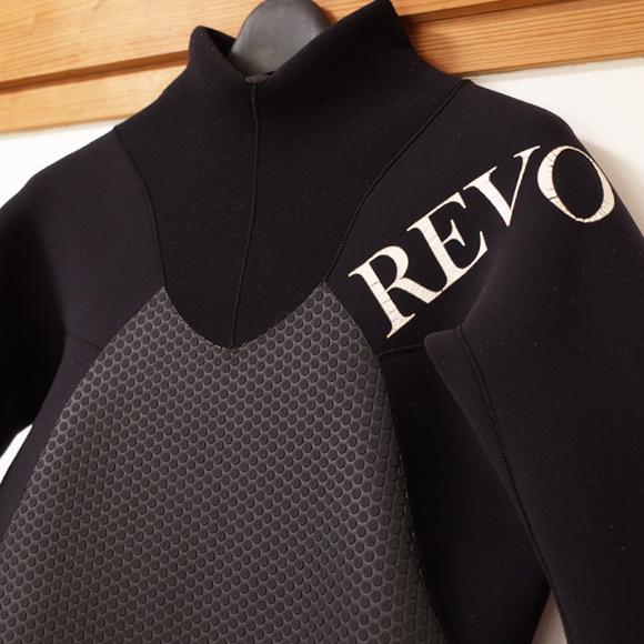 REVO レボ ウェットスーツ 中古 3/2mm フルスーツ メンズ front upper body No.96291517