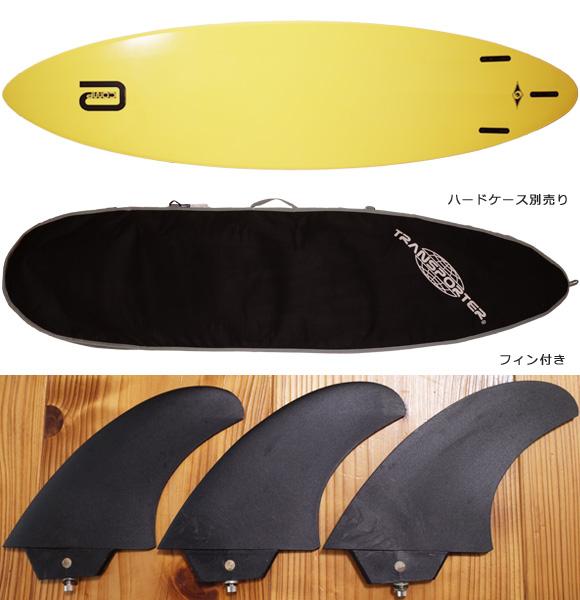 ビック サーフボード BIC SURF 中古ファンボード6`10 CTS  fin/ハードケースNo.96291518