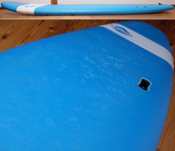 ソフテック サーフボード SOFTECH HANDSHAPED 中古ソフトボード 7`0 deck-condition No.96291519