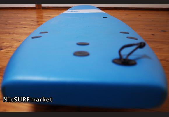 ソフテック サーフボード SOFTECH HANDSHAPED 中古ソフトボード 7`0 deck-detail No.96291519