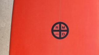 「仕入れ情報」RMDサーフボード 7`4の中古ミニロング入荷