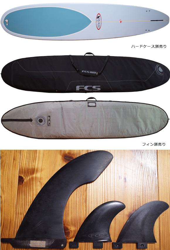 アネラサーフボード anela 中古ロングボード 9`2 EPS fin/ニットケース No.96291520