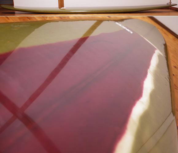 EDNA エドナサーフボード 中古ロングボード 9`1 deck-condition No.96291521