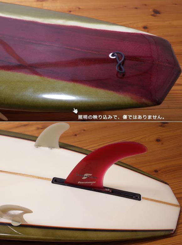 EDNA エドナサーフボード 中古ロングボード 9`1 tail No.96291521