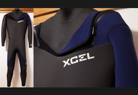 XCELウェットスーツ 中古 5/3mm セミドライ メンズ No.96291522