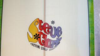 「仕入れ情報」Steve Clark Customサーフボード 中古ロングボード 9`6