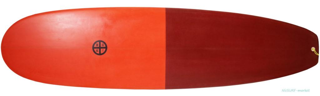 RMDサーフボード 中古ミニロング 7`4 deck-zoom No.96291523