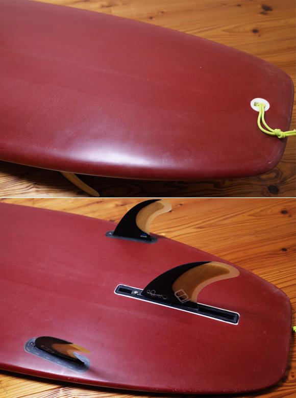 RMDサーフボード 中古ミニロング 7`4 tail No.96291523