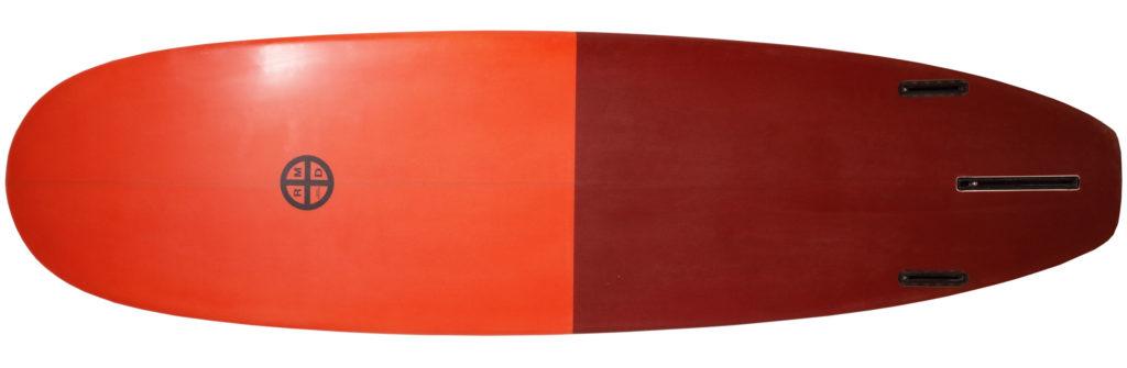 RMDサーフボード 中古ミニロング 7`4 bottom-zoom No.96291523