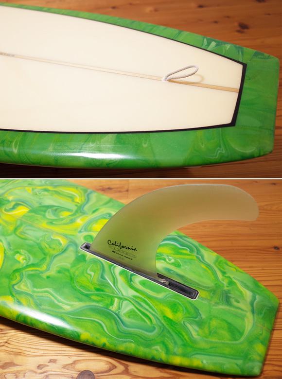 Steve Clark Custom スティーブクラークサーフボード 中古ロングボード 9`6 tail No.96291524