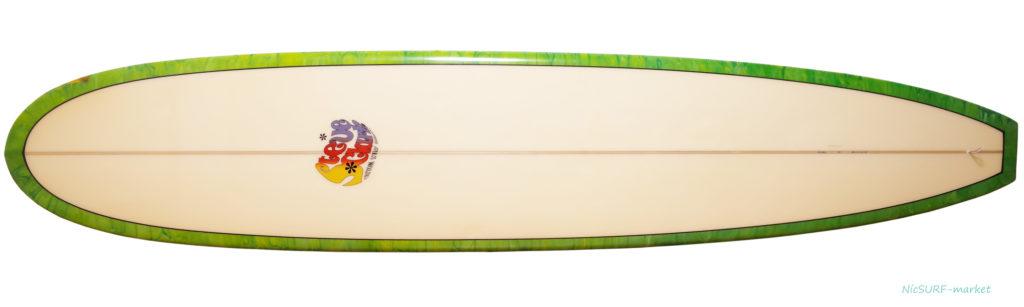 Steve Clark Custom スティーブクラークサーフボード 中古ロングボード 9`6 deck-zoom No.96291524