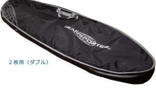 TRANSPORTER OVAL2 中古ハードケース ダブル/1~2枚用 ショートボード 6`8 トラベル No.96291525