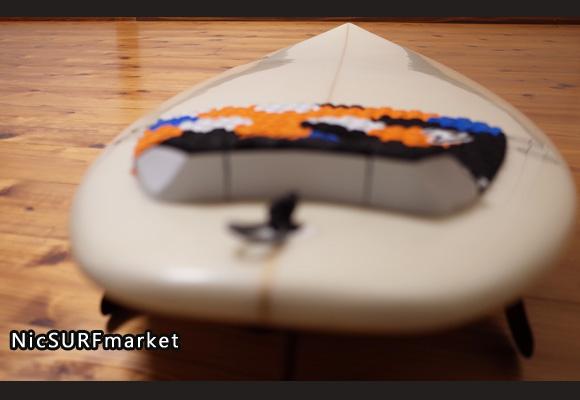 Shootzサーフボード 中古ショートボード 6`4 FIRST 初心者 deck-detail No.96291526
