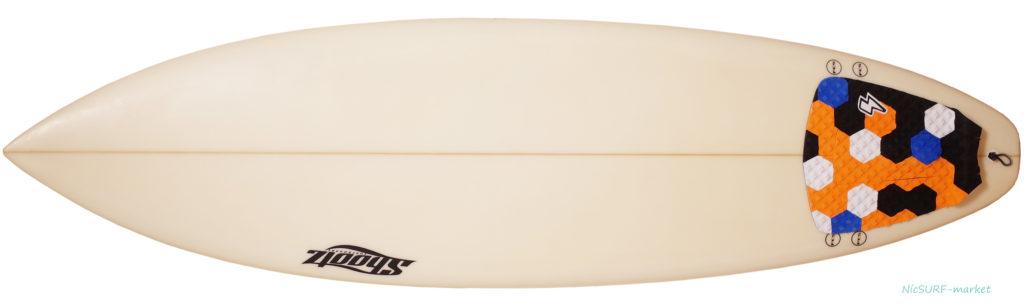 Shootzサーフボード 中古ショートボード 6`4 FIRST 初心者 deck-zoom No.96291526