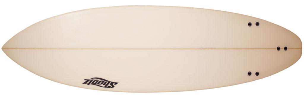 Shootzサーフボード 中古ショートボード 6`4 FIRST 初心者 bottom-zoom No.96291526