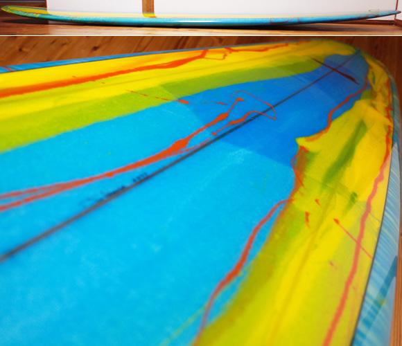 Wegener ウェグナーサーフボード 中古ロングボード 9`4 deck-condition No.96291529