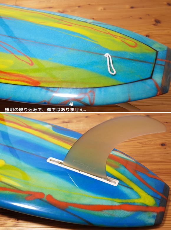 Wegener ウェグナーサーフボード 中古ロングボード 9`4 tail No.96291529