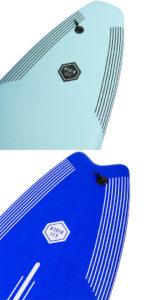 OCEAN&EARTH / OE EZI-RIDER ソフトボード tail design「新品」2021年