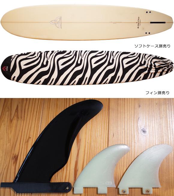 ASD (Abe Shape & Design)  中古ロングボード 9`1 ASYURA fin/ニットケース No.96291531