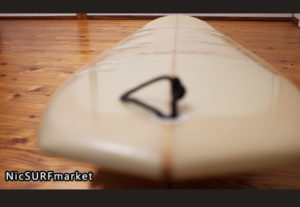ASD (Abe Shape & Design) 中古ロングボード 9`1 ASYURA deck-detail No.96291531