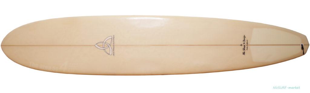 ASD (Abe Shape & Design) 中古ロングボード 9`1 ASYURA deck-zoom No.96291531