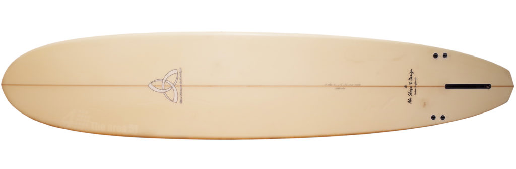 ASD (Abe Shape & Design)  中古ロングボード 9`1 ASYURA bottom-zoom No.96291531