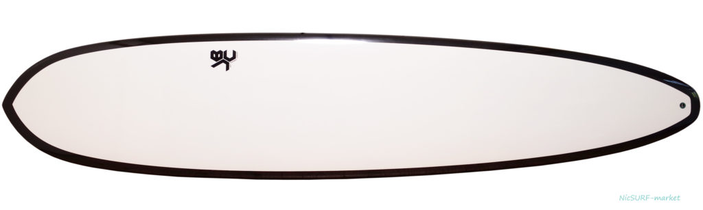 JBC / Jeff Bushman Concept 中古ロングボード 9`0 deck-zoom No.96291532