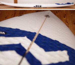 JS サーフボード107 中古ショートボード 5`4 deck-condition No.96291533