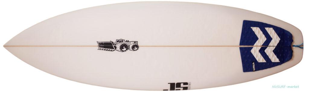 JS サーフボード107 中古ショートボード 5`4 deck-zoom No.96291533