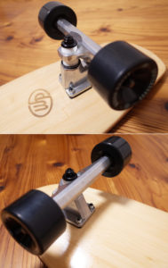 Woody Press 中古スケートボード bamboo28 CARVING MODEL track-condition No.96291559
