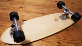 Woody Press 中古スケートボード bamboo28 CARVING MODEL No.96291559