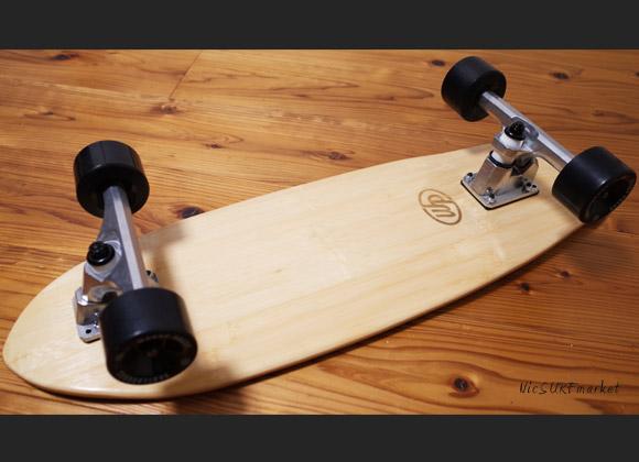Woody Press 中古スケートボード bamboo28 CARVING MODEL No.96291559