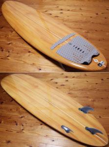 Yesサーフボード 中古ファンボード 7`2 deck/bottom No.96291560