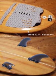 Yesサーフボード 中古ファンボード 7`2 yasuhiro suzuki tail No.96291560