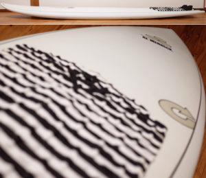 アルメリック torq PODMOD X-LITE 5`10 中古ショートボード EPS deck-condition No.96291562