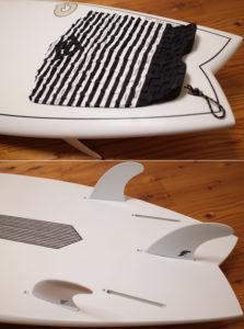 アルメリック torq PODMOD X-LITE 5`10 中古ショートボード EPS tail No.96291562