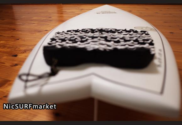 アルメリック torq PODMOD X-LITE 5`10 中古ショートボード EPS deck-detail No.96291562