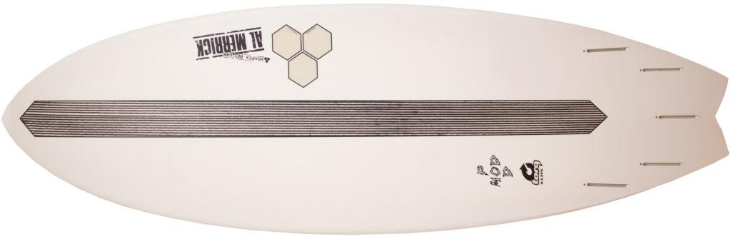 アルメリック torq PODMOD X-LITE 5`10 中古ショートボード EPS bottom-zoom No.96291562